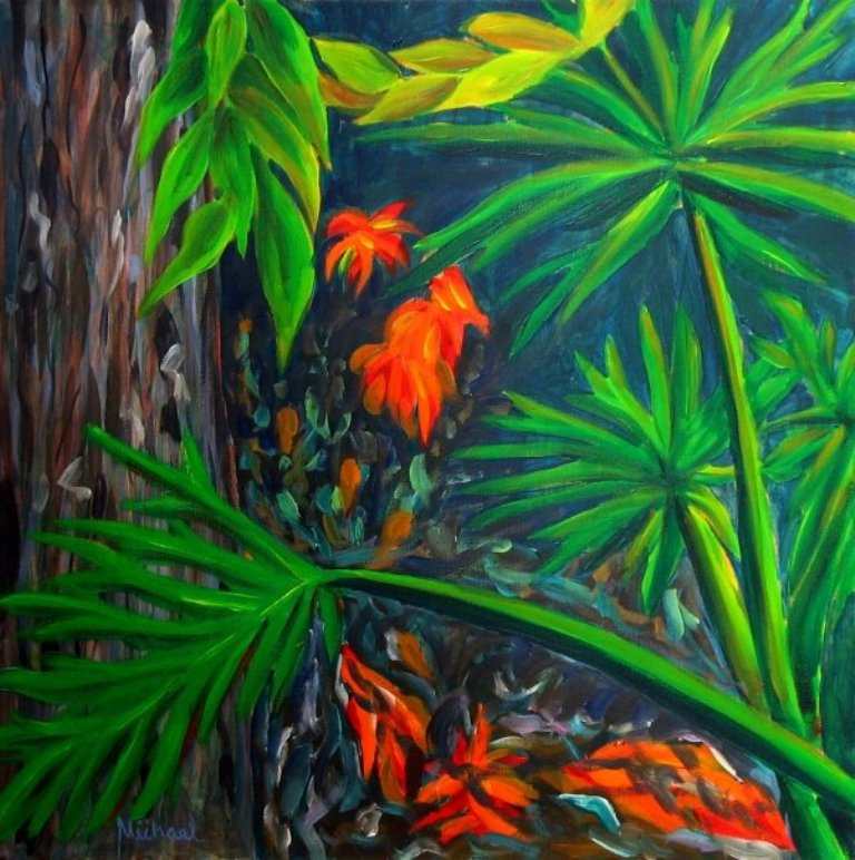 Philodendrons by Michael Arnold Art